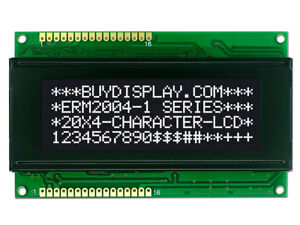 3 3v Black 20x4 Character Lcd Module Display W tutorial hd44780 Controller bezel