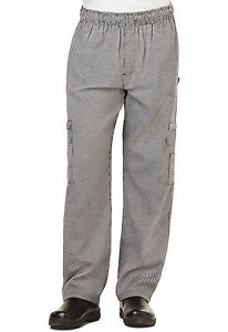 Houndstooth Dickies Chef Mens 5 Pocket Cargo Pants Dc10 Hdth
