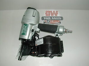 Hitachi Coil Nailer 2 1 2 Inch reconditioned Siding Fence Deck Hardie Board
