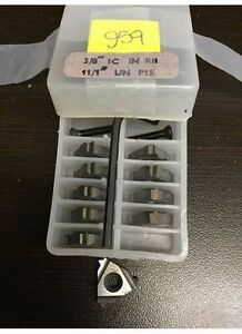 Vardex Carbide Inserts 3 8 Ic In Rh 11 1 Un P15 g59