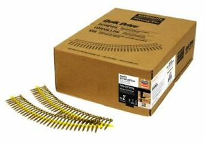 Quick Drive 1 3 4 Inch Sub Floor Screws Strong Drive Collated 2 000
