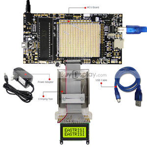 8051 Microcontroller Development Board Kit Usb Programmer For 8x2 Character Lcd