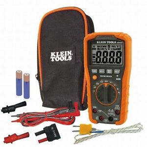 Klein Tool Mm600 Digital Multimeter Auto ranging 1000v