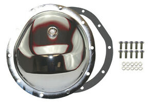 Chrome Steel Chevy Gm 10 Bolt Diff Differential Cover Truck 77 91 Front