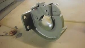 Jeep Willys Mb Gpw Very Late Style Stamped Pintle Hitch Reproduction