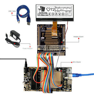 8051 Microcontroller Development Board Kit Usb Programmer For 240x64 Graphic Lcd