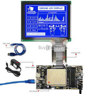 8051 Microcontroller Development Board Kit For 320x240 Graphic Lcd Module