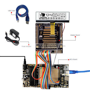 8051 Microcontroller Development Board Kit Usb Programmer For 256x64 Graphic Lcd