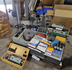 Lot Esterline Federal Formscan Surfanalyzer Perthen Perthometer Test Equipment