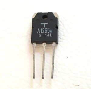 2sa1265n Original Transistor 140v 10a 100w By Toshiba Lot Of 50