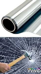 Safety Security Window Film Residential Commercial 50ft X60 8 Mil Car Shops Etc