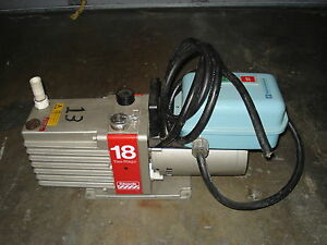 Edwards 18 Two Stage Vacuum Pump