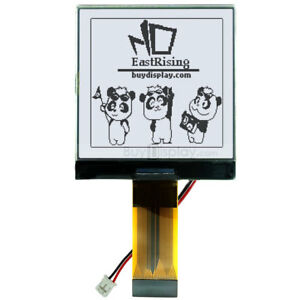3v 2 5 128x128 Dots Graphic Lcd Module Display st7541 W tutorial connector