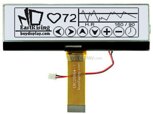 3 8 white Graphic 256x64 Lcd Display Module W uc1698 tutorial connector
