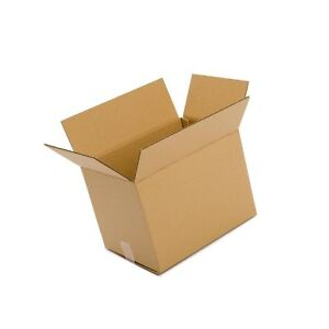 25 Pack 14x10x6 Cardboard Box Packing Shipping Mailing Storage Moving Cartons