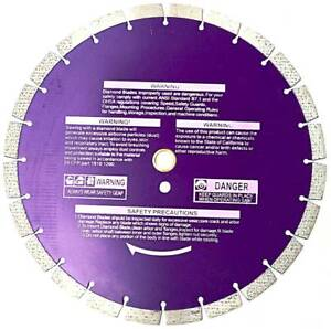 14 Inch Diamond Blade For Hard Brick stone pavers concrete 1 2 Segments