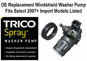Windshield Wiper Washer Fluid Pump Trico Spray 11 618