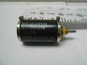 Rr4000c2c8h101 Duncan Resistor Variable 100 Ohms New Old Stock