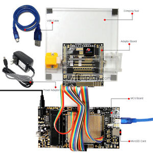 8051 Microcontroller Development Board Kit Usb Programmer For 0 95 oled Display