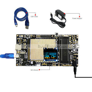8051 Microcontroller Development Board Kit Usb Programmer For 0 96 oled Display