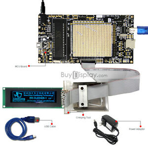 8051 Microcontroller Development Board Kit Usb Programmer For 2 8 oled Display