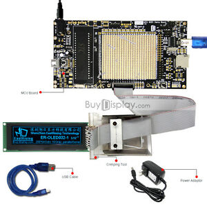8051 Microcontroller Development Board Kit Usb Programmer For 3 2 oled Display