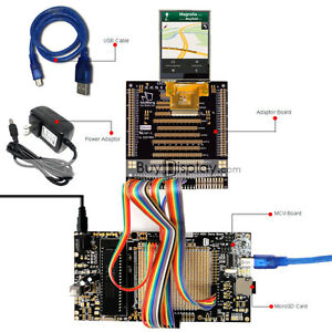 8051 Microcontroller Development Board Usb Programmer For 2 6 tft Lcd Display