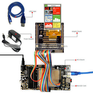 8051 Microcontroller Development Board Usb Programmer For 3 5 tft Lcd Display