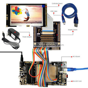 8051 Microcontroller Development Board Usb Programmer For 4 3 tft Lcd Display