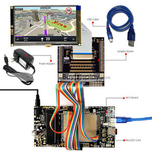 8051 Microcontroller Development Board Kit Usb Programmer For 5 tft Lcd Module