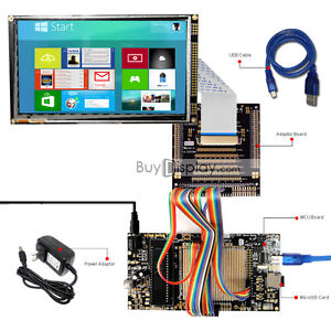8051 Microcontroller Development Board Kit Usb Programmer For 7 tft Lcd Module