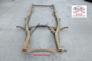 1949 1950 1951 1952 Chevrolet Frame Straight Solid Rust Free