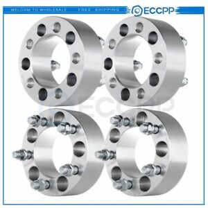 4 Pcs 2 5x4 5 To 5x4 5 Wheel Spacers Bolt 1 2 X20 For 1991 2018 Ford Explorer