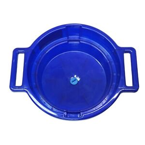 Blue Bowl Bucket Sieve Container For Gold Prospecting Fits 3 Screens With Guard