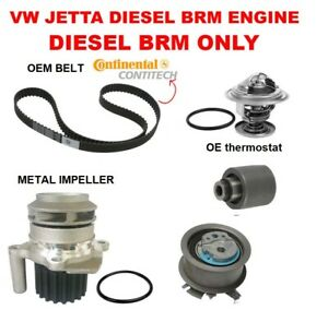 Engine Timing Belt Water Pump Kit For Vw Tdi Diesel 1 9 Brm Only