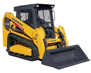 2016 Yanmar T175 1 Track Loader No Sales Tax we Deliver Call For Great Price
