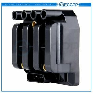 Ignition Coil Plug Pack For Vw Jetta Golf Beetle 2 0l L4 Uf484 06a905097