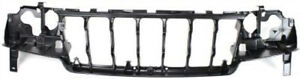 Front Header Headlight Mounting Panel For 1999 2003 Jeep Grand Cherokee