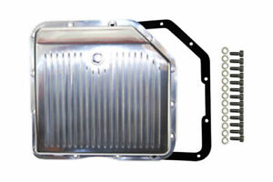 Chevy Polished Finned Aluminum Turbo 350 Transmission Pan Cbc Th 350 Th350 Trans