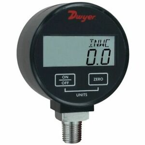 Dwyer Dpgw 00 Digital Pressure Gauge 30hg To 0psi For Liquid gas 1 Accuracy