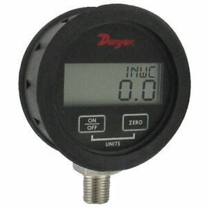 Dwyer Dpgwb 08 Digital Pressure Gauge 0 To 100psi For Liquid gas 0 5 Accuracy