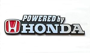 Power Honda Metal Emblem Badge Logo Sticker Decal For Civic Accord Si Trunk
