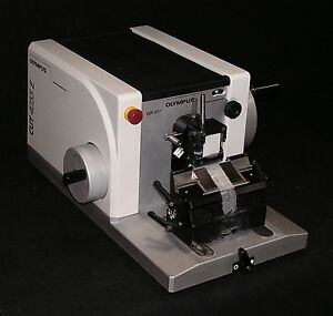 Olympus Model Cut 4055e Motorized Microtome Fully Reconditioned