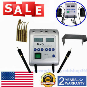 Dental Lab Digital Electric Wax Waxer Carver Double Carving Pen pencil 6 Tip 2a