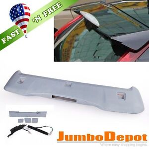 Us Abs Unpainted Rear Roof Trunk Spoiler Wing Oe Style For Honda Crv Cr v 12 16
