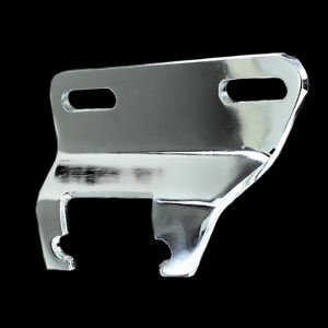 Chrome Alternator Bracket Fits Small Block Chevy 327 350 383 400 Lower Short Wp