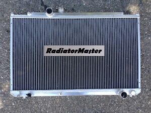 Aluminum Radiator For 1996 2000 Toyota Mark Ii chaser 2row 2 5l 1997 1998 1999