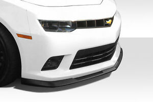 2014 2015 Chevrolet Camaro V8 Gm X Front Lip Under Air Dam Spoiler 1 Pc 112208