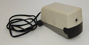 Boston Model 19 Beige Electric Pencil Sharpener Made In Usa Works Great 296a