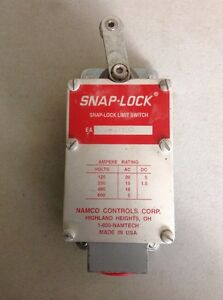 Namco Snap lock Limit Switch 170 31100